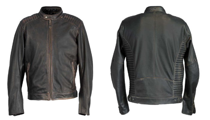 Richa Harrier Leather Jacket Brown